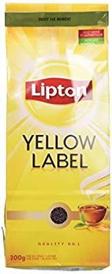 Lipton Thé Noir en Vrac Yellow Label, 200g parent