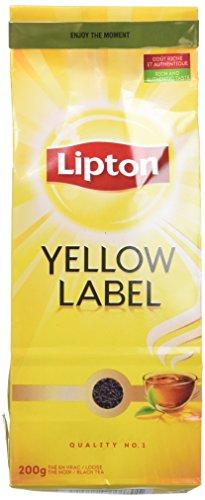 Lipton Thé Noir Yellow Label Vrac 200g