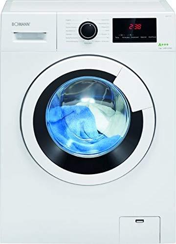 Bomann Waschmaschine WA 7170/164 kWh/Jahr/LED-Display / 7 kg Fassungsvermögen/weiß