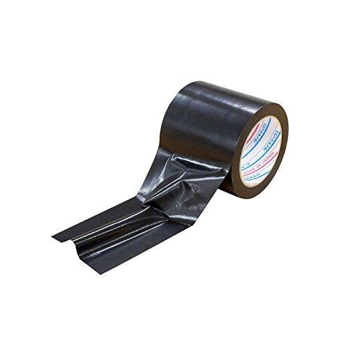 ダイヤテックス パイオラン 仮設コード固定用テープ 100mm×20m CK-06-BK