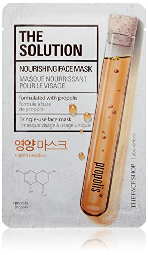 The Face Shop The Solution Nourishing Sheet Mask