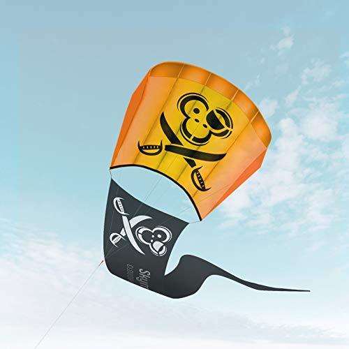 Skymonkey Cloudpirat Drachen für Kinder ab 5, Einleiner Flugdrachen, Anfänger, 57cm
