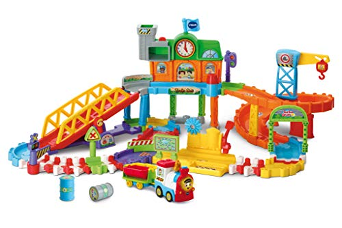 VTech Toot-Toot Drivers Train Set, Motorised Kids Train...