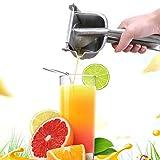 FEBT Spremiagrumi Manuale spremiagrumi, spremiagrumi Manuale, Acciaio Inossidabile 304 per Utensili da Cucina multifunzionali per spremere Arance, Limoni e Lime