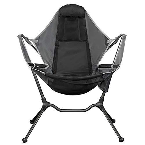 Nemo Equipment Stargaze Recliner Luxury Camping Chair, Graphite/Smoke