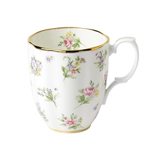 Royal Doulton 1920 Spring Meadow, Tazza con Motivo di Fiori, 400 ml