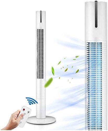 Pantallas LED de Ventilador de Torre Remoto Inteligente, hogar Desnudo, Suministro de Gas de Tres velocidades 60, 40W