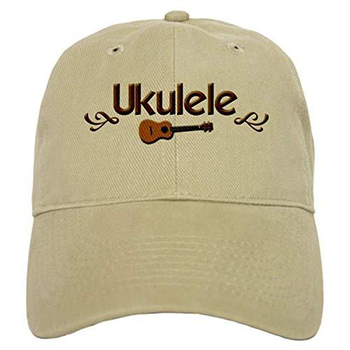 Uliykon Ukulele Ukulele Ukulele Cap Baseball Cap mit verstellbarem Einzigartig Bedruckter Baseballmütze für Männer Frauen