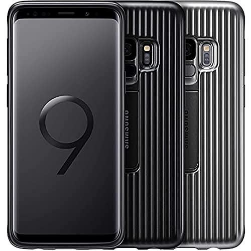 SAMSUNG Galaxy S9 Protective Standing Cover, Argento, EF-RG960CSEGWW