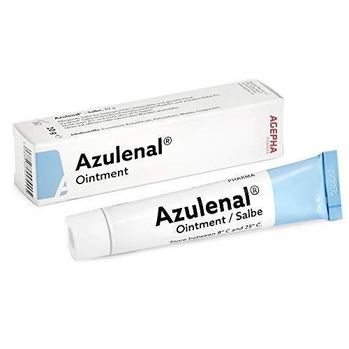 Azulenal® Wound and Ointment - Natural Anti-inflammatory Ointment Breastfeeding Baby Cream 20 GM verpakking van 1