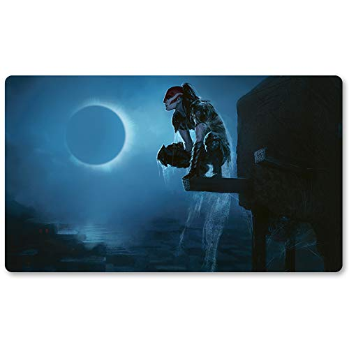 Vampire Nighthawk - Brettspiel MTG Spielmatte Tischmatte Spielmatte Spielmatte Größe 60x35cm Locking Edge Mousepad Spielmatte für Yugioh Pokemon Magic The Gathering