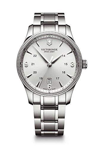 Victorinox Swiss Army–Reloj de Pulsera para Hombre Alliance Large analógico de Cuarzo Acero Inoxidable 241712.1