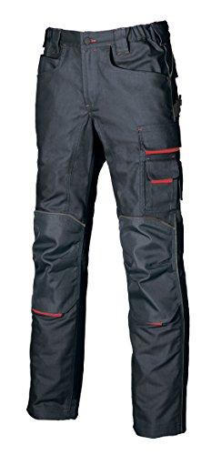 U POWER DW022DB-46 DW022DB-46-Gamma di Pantaloni Non Preoccuparti Modello Free Deep Blue Taglia 46, Turquesa, 42 Uomo