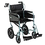 Days Escape Wheelchair, Lite Aluminium, Lightweight and Foldable Frame, Mobility Aids, Attendant-Propelled, Comfort