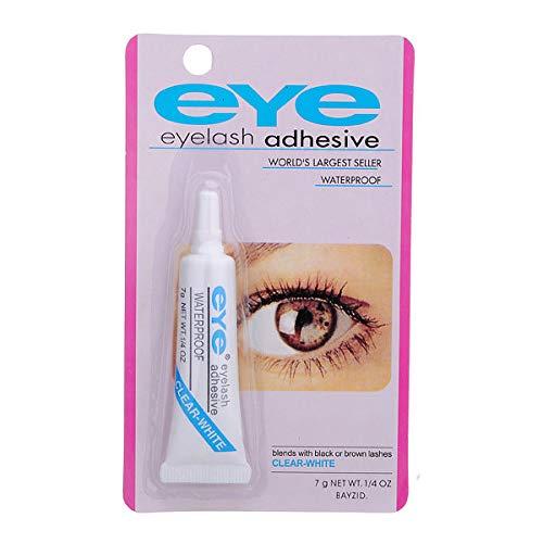 White Eyelash Glue For False Eyelashs Double Eyelid