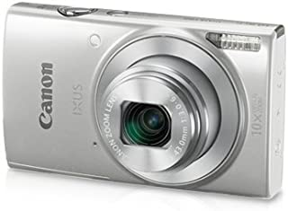 Canon IXUS 190 20MP Digital Camera with 10x Optical Zoom (Silver)