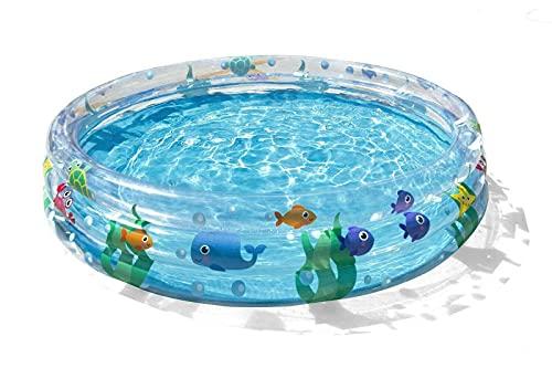 Bestway BW51004-21 - Juego de 3 anillos para niños (152,4 cm), diseño de piscina infantil