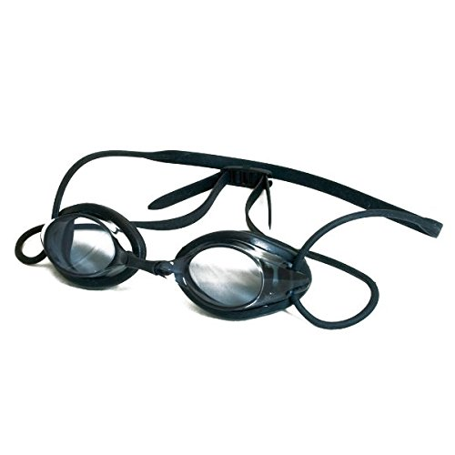 Hoogwaardige kant-en-klare zwembril voor volwassenen met minusdikte incl. etui eenheidsmaat -3,5