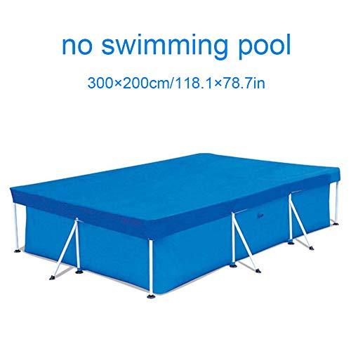 YYWJ Rechteckige Abdeckung für den Pool, wasserdicht, UV-beständig, staubdicht, strapazierfähig, für Planschbecken, aufblasbarer Familienpool