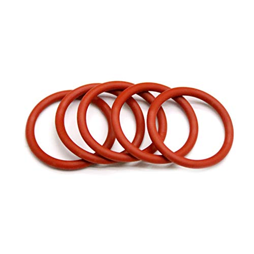 10pcs O Ring Seal 3mm Waterproof Washer Rubber Insulated Round Shape Seal Gasket, Od 14mm, 3Mm