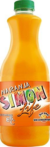 Refresco Simon Life Naranja, 1.5L
