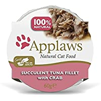 60% Tuna Fillet with Crab. High meat content, rich in natural taurine, promotes the development of lean muscle tissue. Additive and preservative free complementary cat food with no added sugar, promoting a healthy weight. Natural source of taurine es...