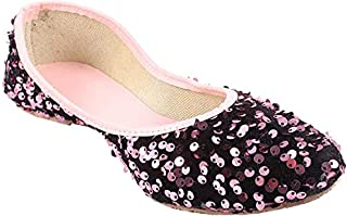 Galaxy Foot Craft Women Sitara Belly-Pink (SN4)
