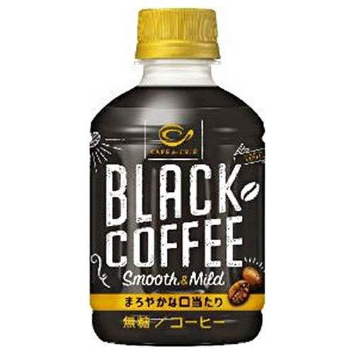 ポッカサッポロ カフェ・ド・クリエ ブラックコーヒー スムース&マイルド 270mlペットボトル×24本入×(2ケース)