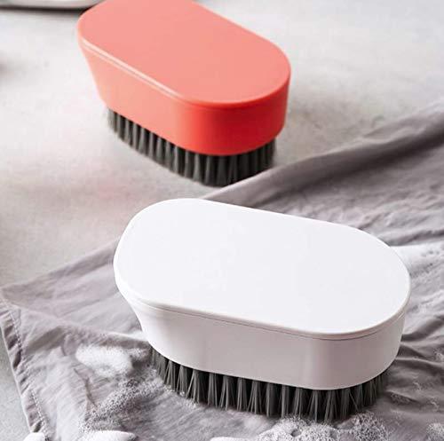 Multifunctionele Huishoudelijke Reinigingsborstel Draagbare Wasborstel Wasborstel Voor Tapijt Sprei Kleren Doek, Willekeurige Kleur