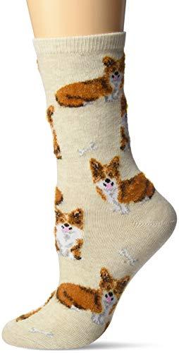 Hot Sox Damen Corgi Socken - grau -