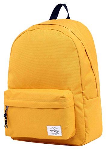 HotStyle SIMPLAY Classic School Backpack Bookbag, Goldenrod