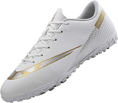 Men's Football Boots Turf Shoes Non-Slip Outdoor Training Professional Unisex...