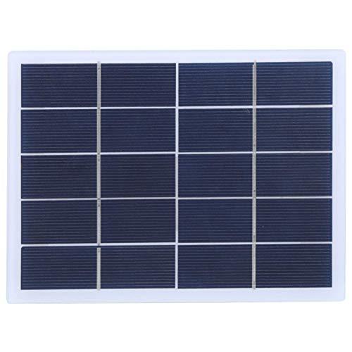 DAUERHAFT Panel de Cargador Solar portátil Panel de energía Solar de 3W 5V para Todos los electrodomésticos pequeños
