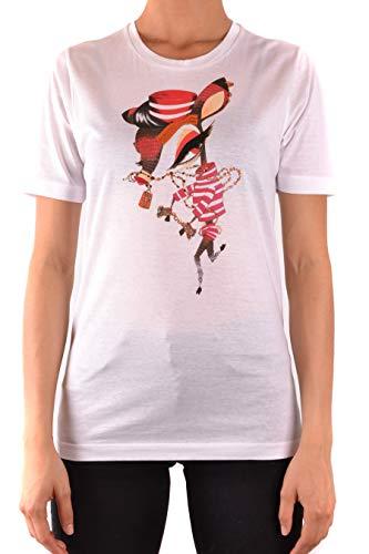 DSquared T-Shirt Kurzarm Gr. Small, weiß