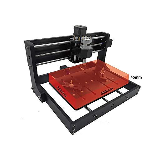 CNC 3020 Laser Engraver Machine GRBL Control Offline Desktop DIY CNC Router Wood Carving PCB Milling Machine Craved On Metal