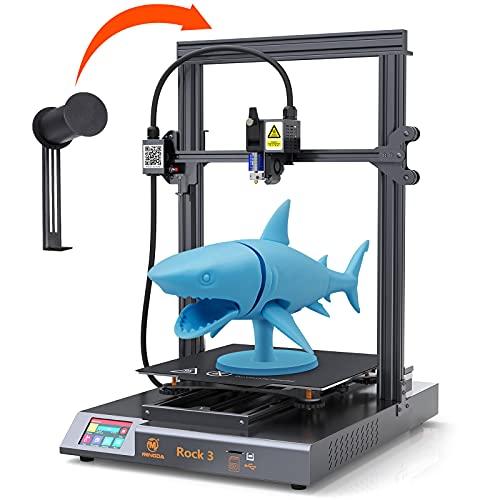 MINGDA 3D-Drucker 95% vormontiert mit Glasplattform, BMG Direktantriebsextruder TMC2208 Silent Printing, 320 x 320 x 400 mm (Rock3)