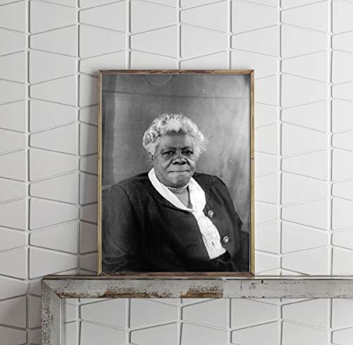 INFINITE PHOTOGRAPHS Photo: Mary McLeod Bethune | Portrait | Carl Van Vechten | Historic Photo Reproduction