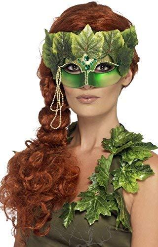 Fancy Me Donna Sexy Edera Folletto della Foresta da Fata Folletto TV Film Scellerato Maschera Costume - One Size
