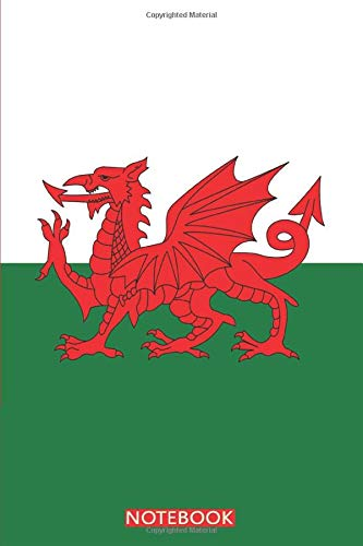I Love Wales: Wales Flag Notebook   Wales Rugby Gifts   Wales Gifts For Men Women Boys Girls Teens   College Ruled Writer's Notebook for School, ...   Cardiff City Gifts   6x9 Inches - 120 Pages