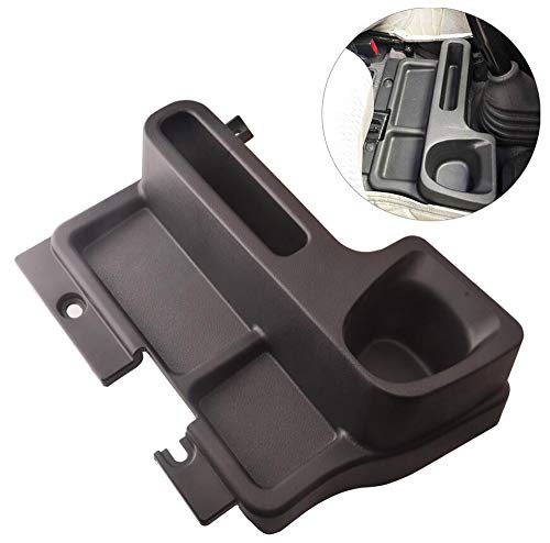 Cosilee Center Console Box Gear Insert Water Cup Holder Compatible for Toyota Land Cruiser LC70 LC71...