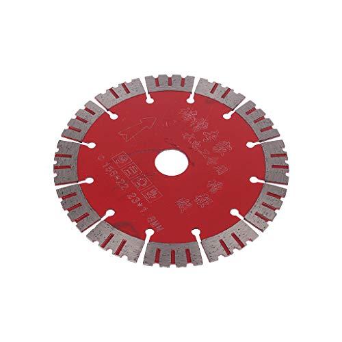 156 mm Sägeblatt für Marmor, Beton, Porzellan, Fliesen, Granit, Quarzstein, passend für Schneidemaschinen