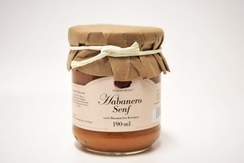 Berners Feinkost Delikatessen Habanero Senf - 190 ml