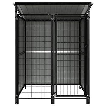 vidaXL Chenil d'Extérieur 133x133x164 cm Chiots Chiens Niche Cage Animaux