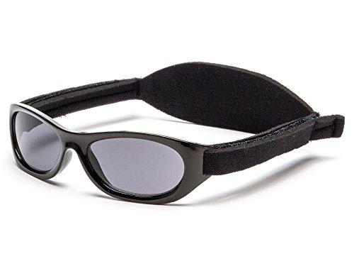 Kiddus Sonnenbrillen für Baby Kinder Jungen und Mädchen. 0 Monate bis 2 Jahren. UV400 SonnenSchutz. Unzerbrechliche Linsen. Mit Verstellbarem Gummiband. Nützliches Geschenk (KI30230)