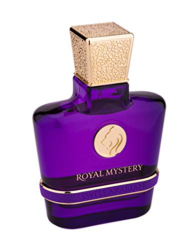 ROYAL MYSTERY, Eau de Perfume 100mL | Chypre Fruity Fragrance for Women | Melon, Pear, Freesia, Roses, Rhubarb and a Warm Finish of Patchouli and Amber | Parfum by Swiss Arabian Oud | Intense Spray