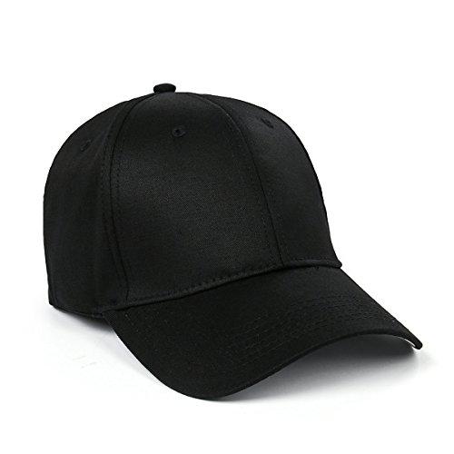 NUWIND Reaper Crew Cap Stickerei Unisex Baseball Cap Hut Kostüm Verkleidung Zubehör Nicht Verstellbar Schwarz Gr. 7 1/8, Schwarz