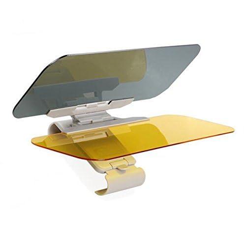 eJiasu 2 in 1 Car Anti-Glare Windshield Extender Reduce Glare from Sun and Oncoming Headlights Car Accessories for Women Men Car Sun Visor Extender Sun Blocker