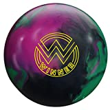 Roto Grip RG164 16 Winner Solid Bowling Ball, Black/Purple/Green,