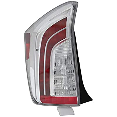 Epic Lighting OE Fitment Replacement Rear Brake Tail Light Assembly Compatible with 2012-2015 Prius [ TO2800189 8156147190 ] Left Driver Side LH