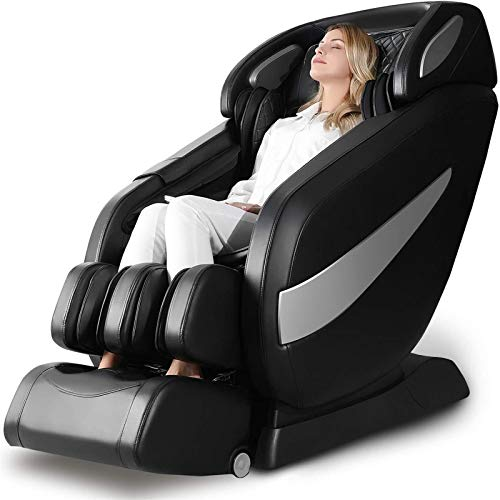 Massage Chair, Zero Gravity SL Track Massage Chair, Full Body Shiatsu Massage Chair Recliner with Space Saving, Yoga Stretching, Bluetooth Speaker,...